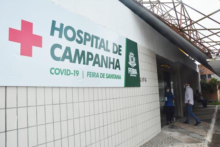 Hospital de campanha de Feira de Santana inicia atendimento