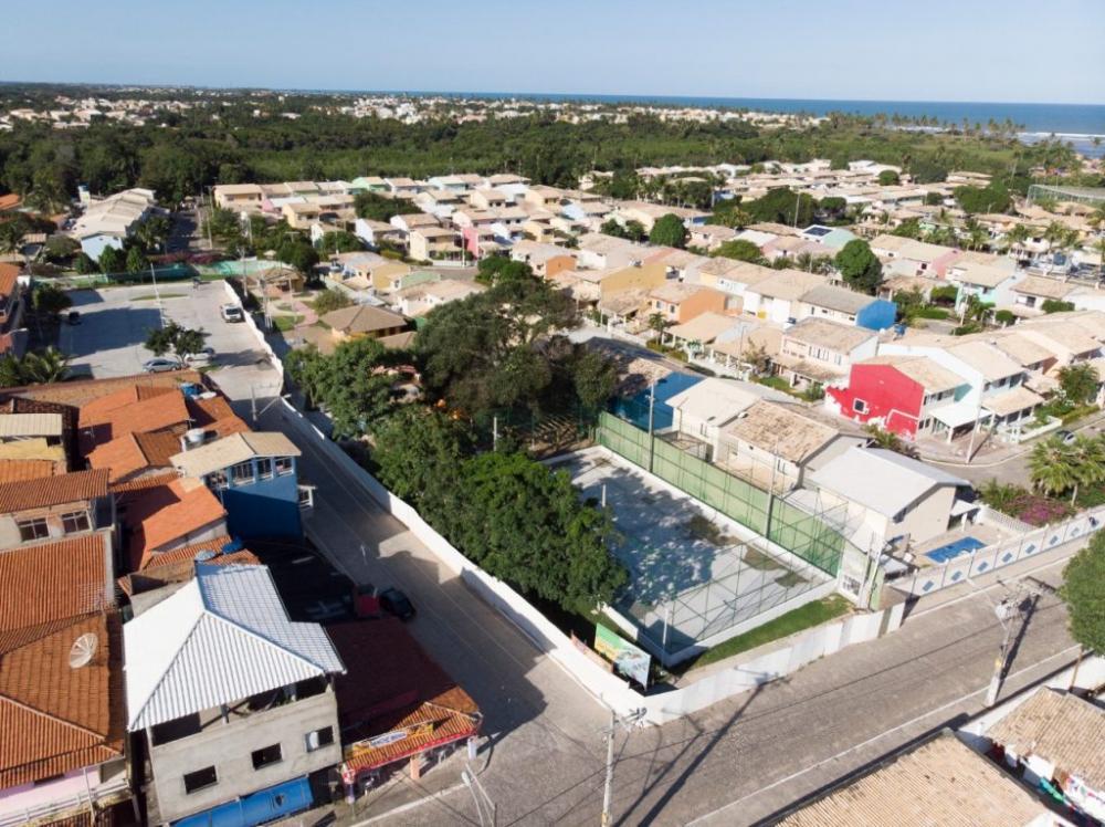 Obra da praça de Barra do Jacuípe está em fase de conclusão